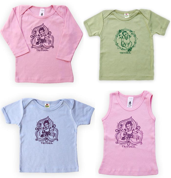 TriYoga Baby Clothes ~ T-shirts