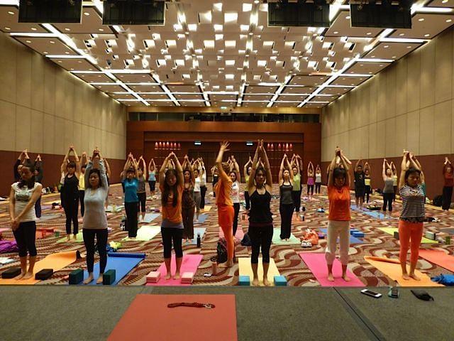 Asian yoga conference and hong kong