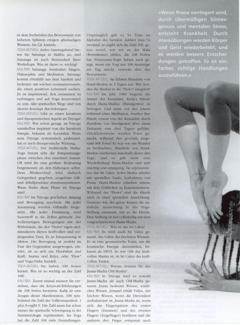 Yoga Aktuell 2001 page 5