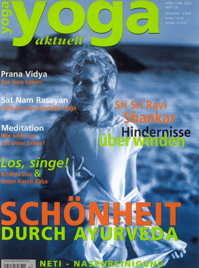 Yoga_Aktuell_2002_cover_Kali_Ray_TriYoga