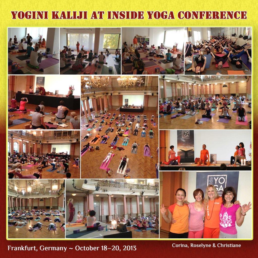 Yogini Kaliji Presents TriYoga at inside Yoga Conference