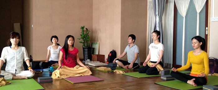 TriYoga Center Shenzhen Meditation