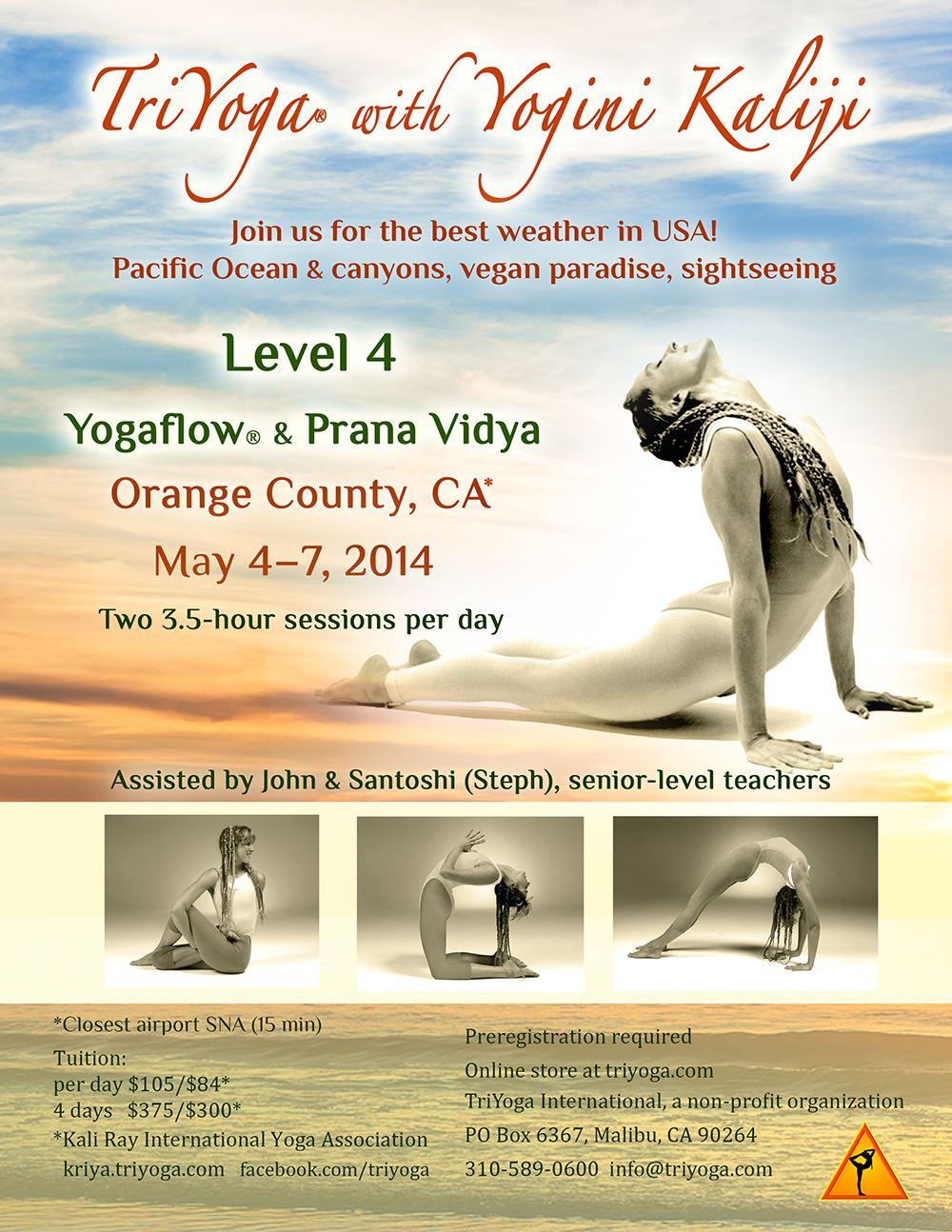 Yogaflow Level 4 with Yogini Kaliji