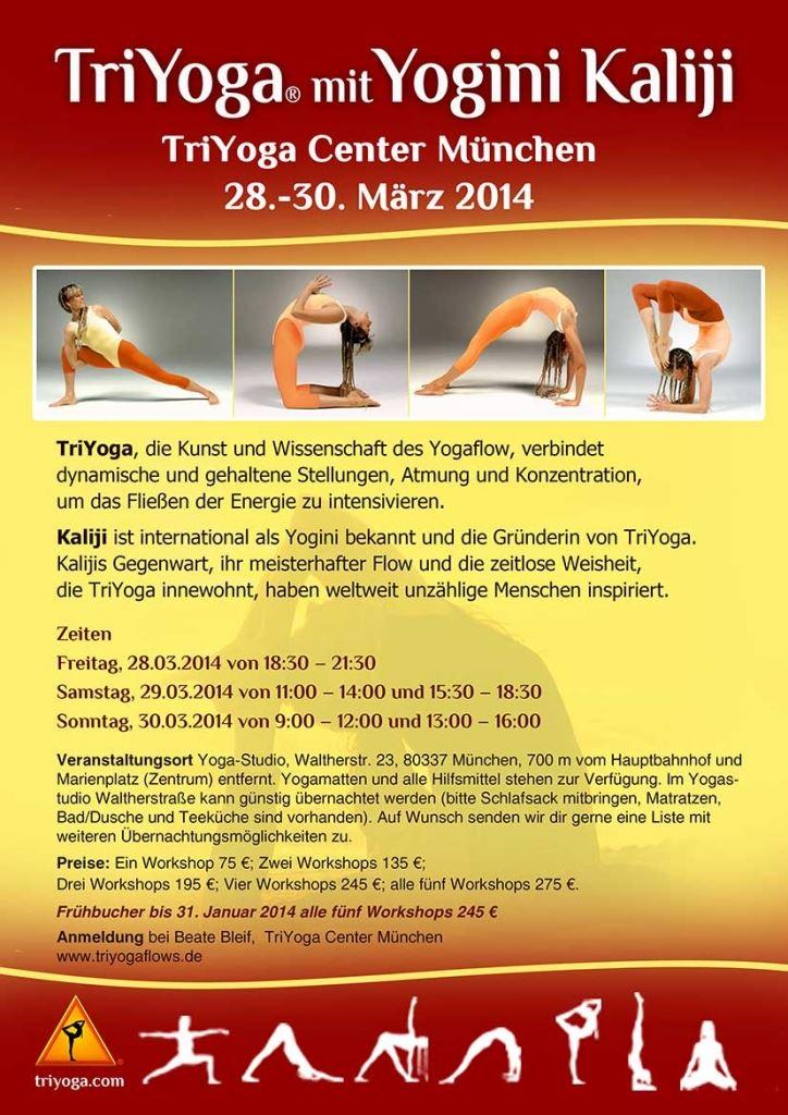 TriYoga with Yogini Kaliji TYC Munich