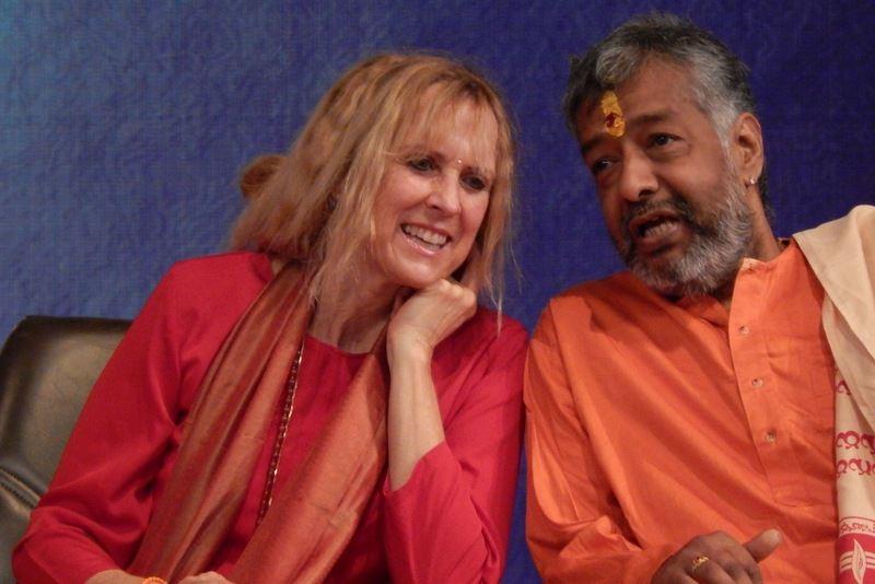 Yogini Kaliji & Sw. Manasa Datta ~ Journey to India 2013