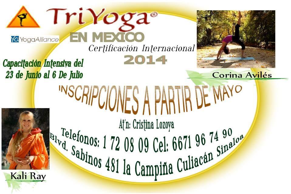 TriYoga Teacher Training in Mexico