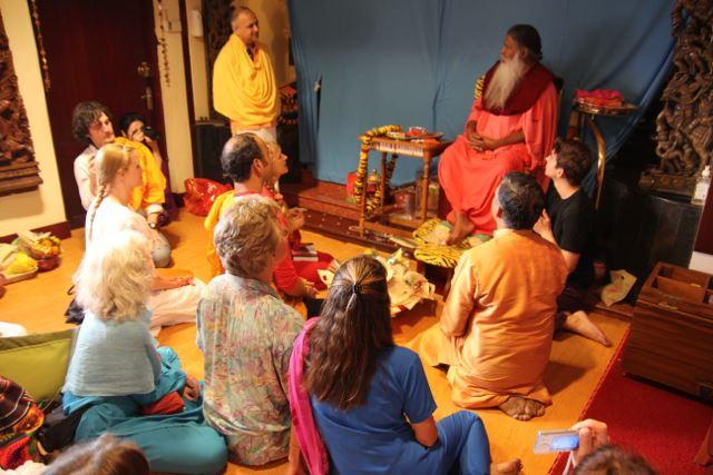 Darshana with Sri Swamiji ~ Journey to India with Yogini Kaliji 2013