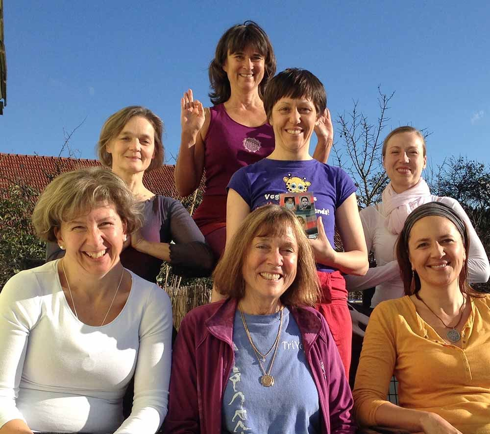 TriYoga Teacher Training with Nandi Allershausen 2013 1