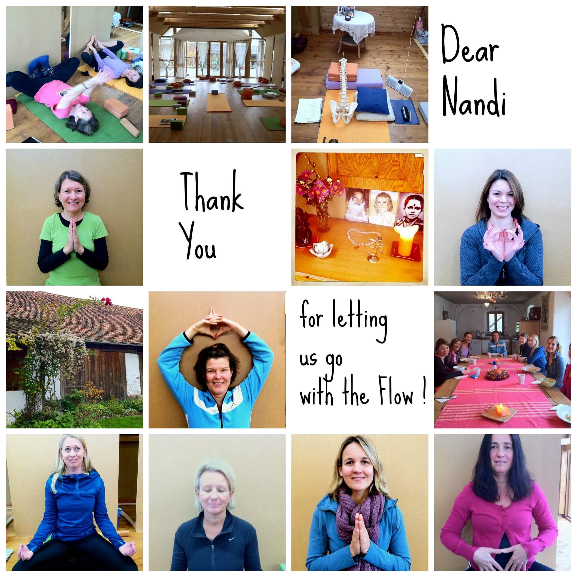 TriYoga Teacher Training with Nandi Graz 2013 2