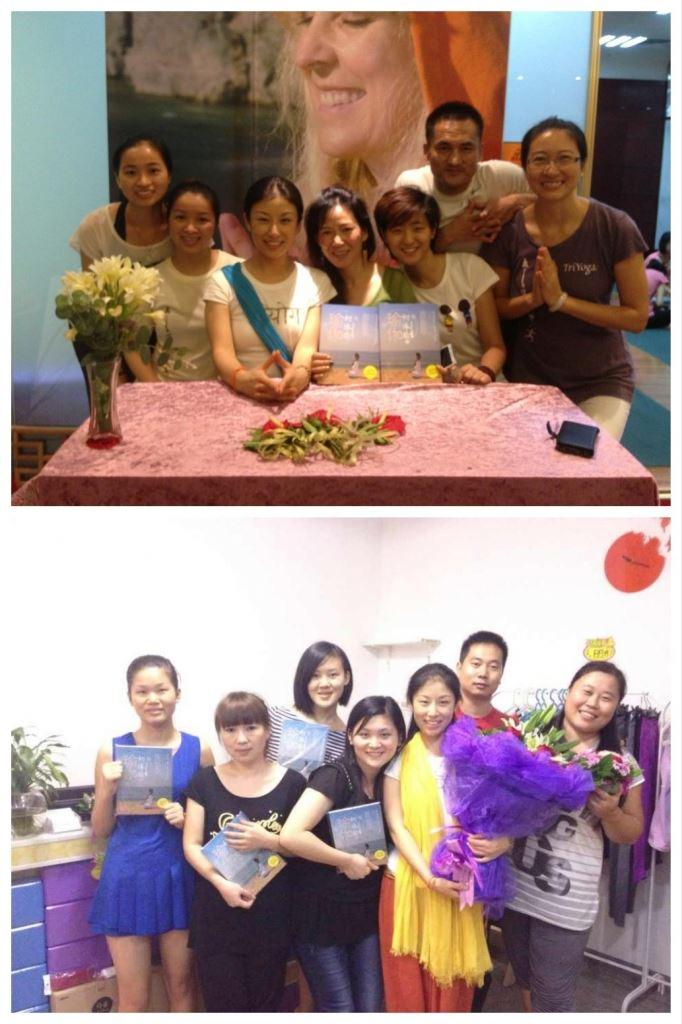TriYoga signing at TYC Shenzhen Bao'An