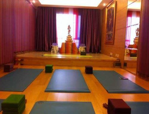 New TriYoga Center in Beijing