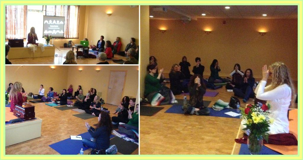 Mudra class with Yogini Kaliji at TriYoga Boston
