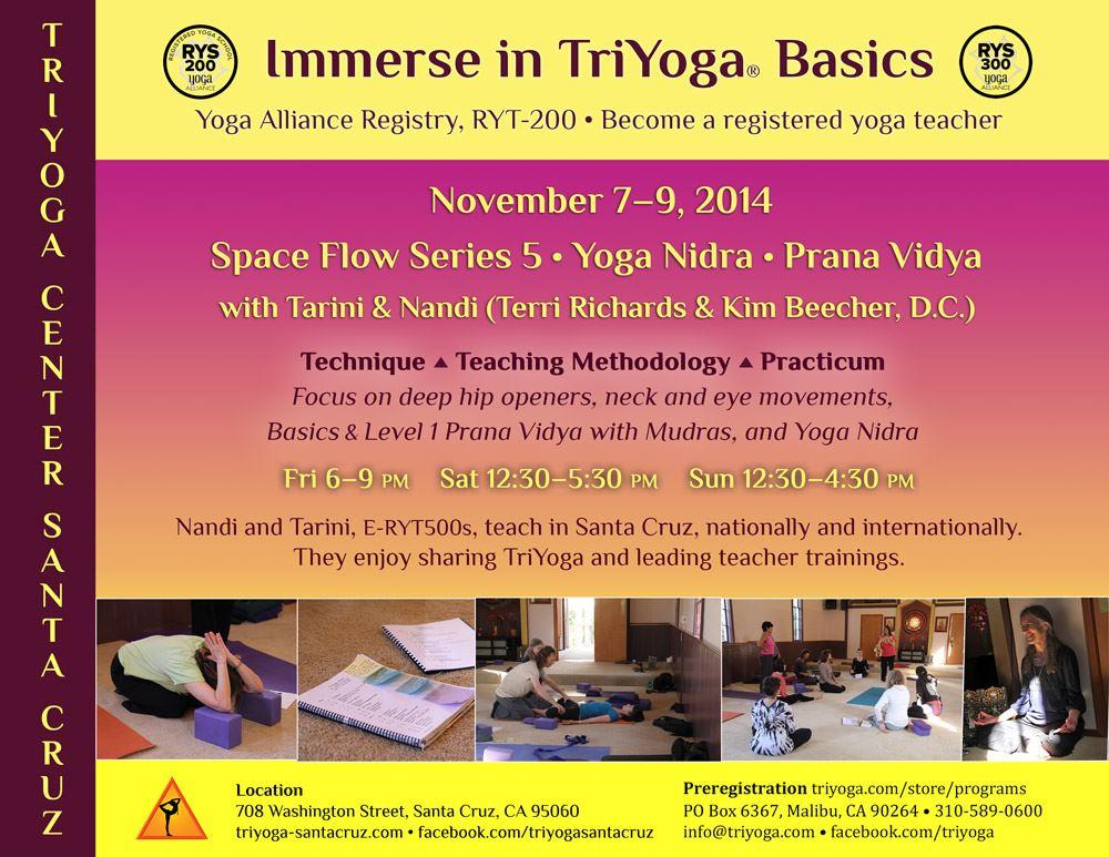 TriYoga Basics Teacher Training