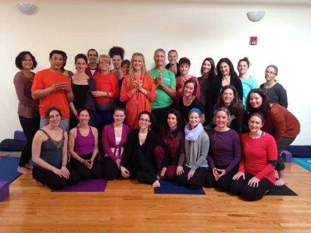 Kaliji with David Orlansky's teacher training group
