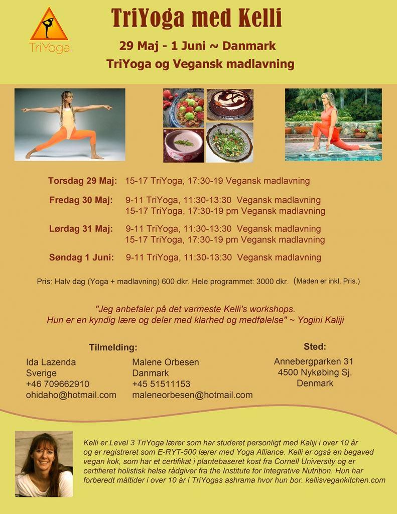 TriYoga & Vegan cooking with Kelli