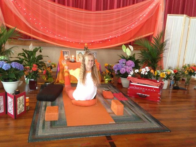 TriYoga with Yogini Kaliji in TYC of Central PA