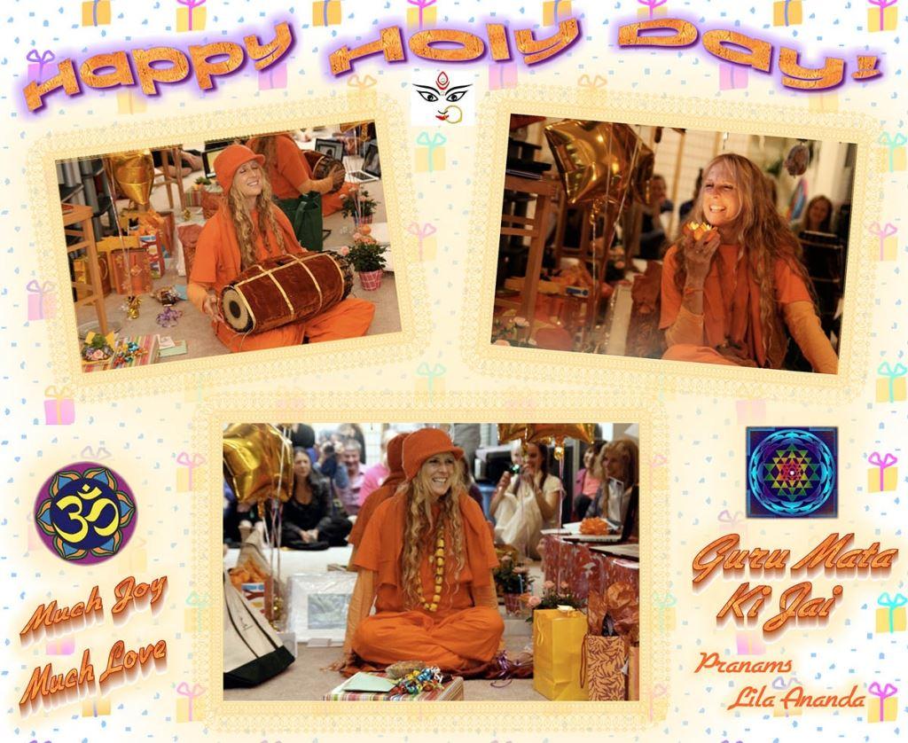 Happy Birthday from Lila Ananda