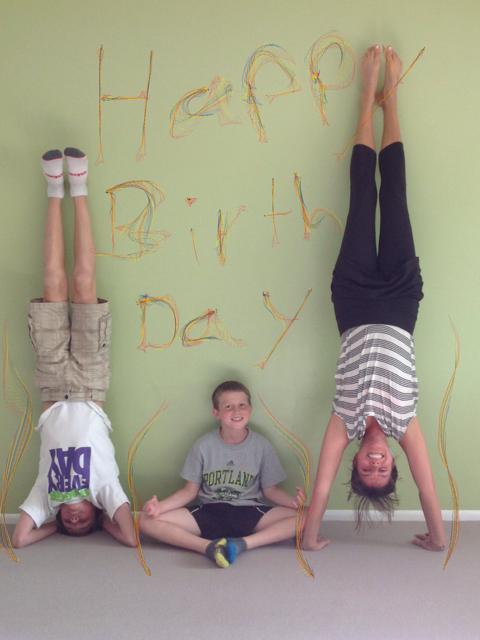 Happy Birthday from Gaytri, Matys & Alexander