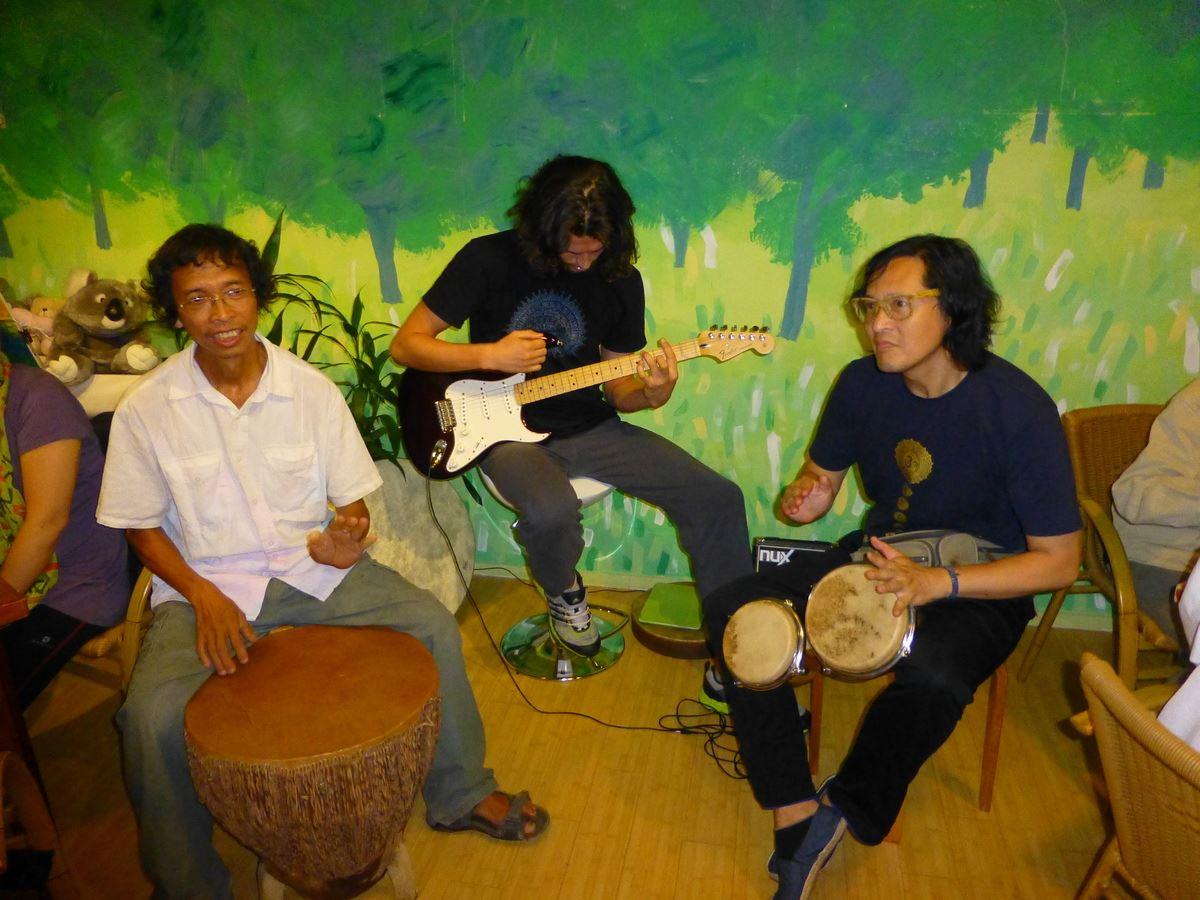 Ken, Alexey and Dr. Chau