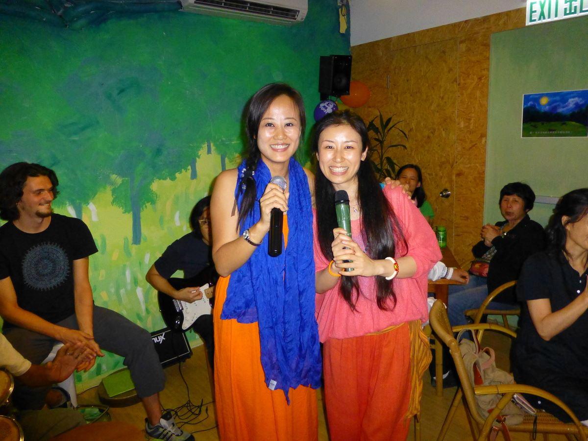 Kiki and Xiao Lin
