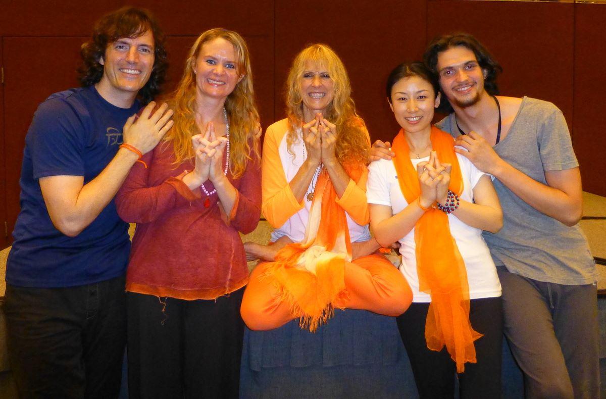 John, Santoshi, Kiki and Alexey