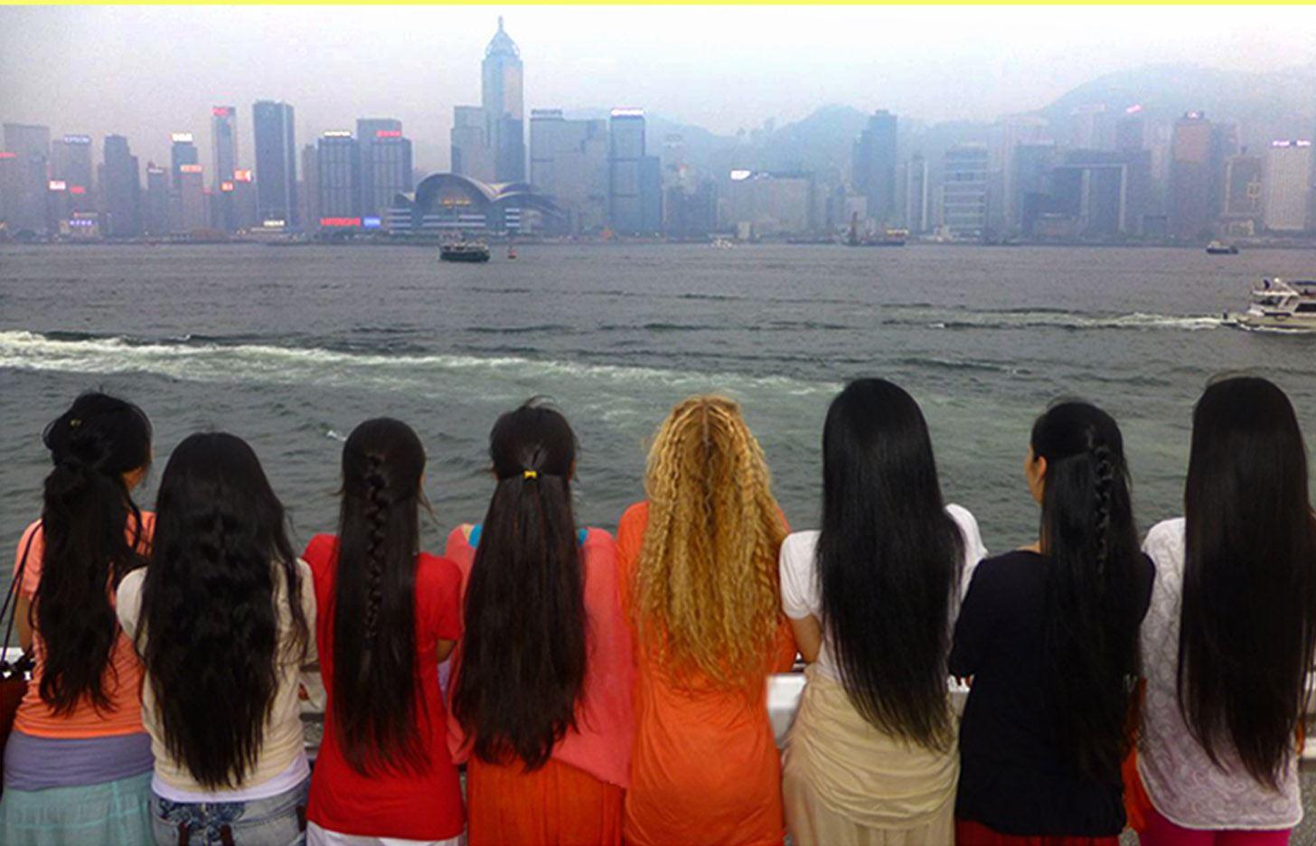 Yogini_Kaliji_students_Hong_Kong