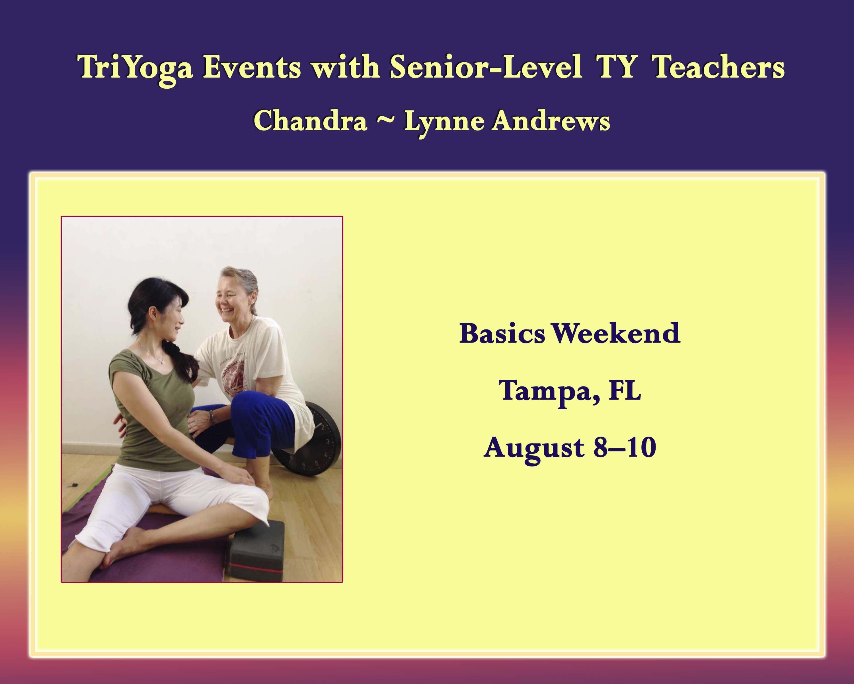 TriYoga Basics with Chandra
