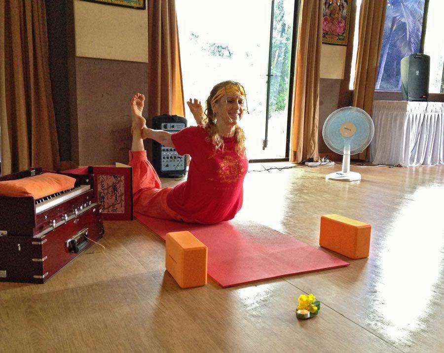 Yogini Kaliji teaching All-Levels Flows