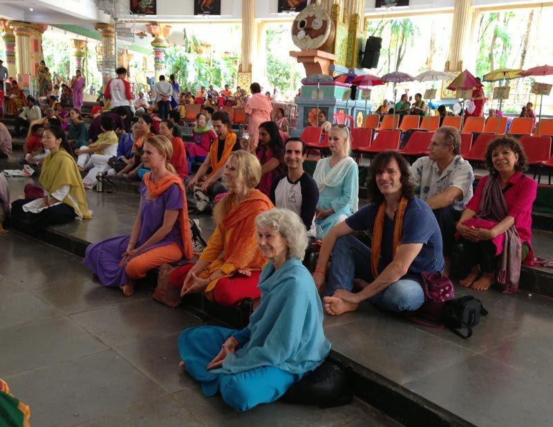 Sri Cakra Puja at Nada Mantapam