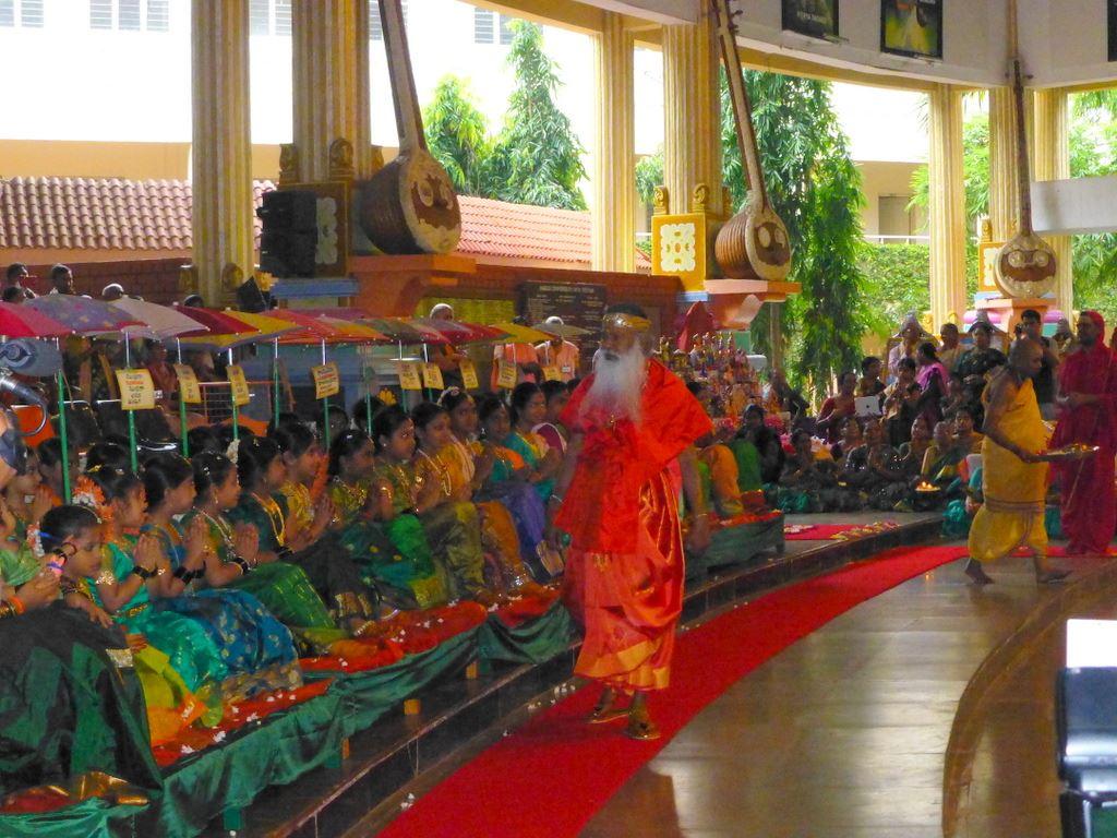 Devi Navaratri ceremony