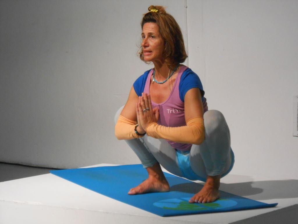 Yoga Festival Milano Crow Squat