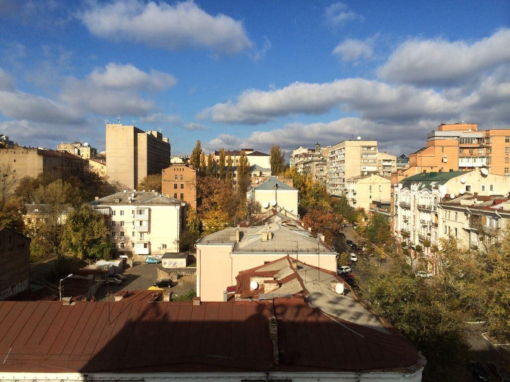 Beautiful Kiev from studio window