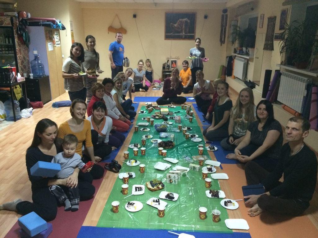 TYC Brovary birthday party