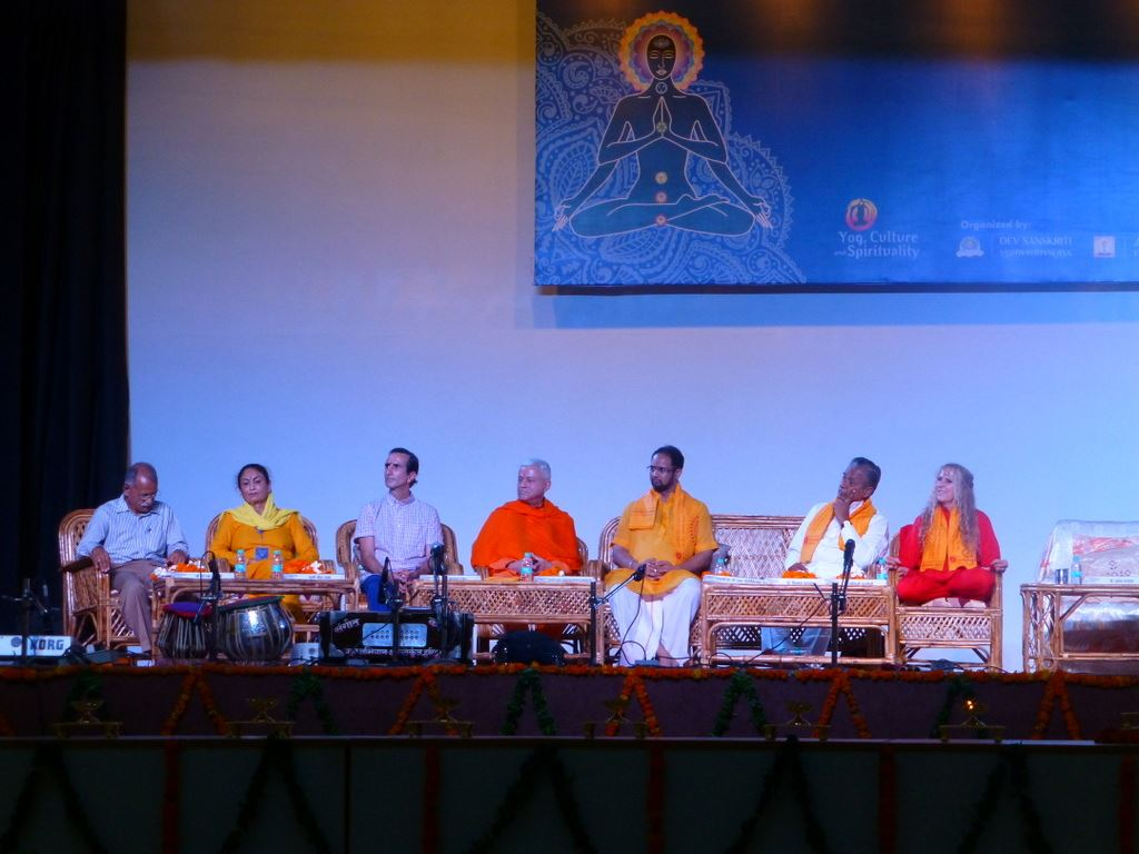 Kailji on right (stage center), Dr. G third from left