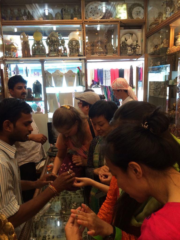 Shopping at Hanumant Gems in Rishikesh
