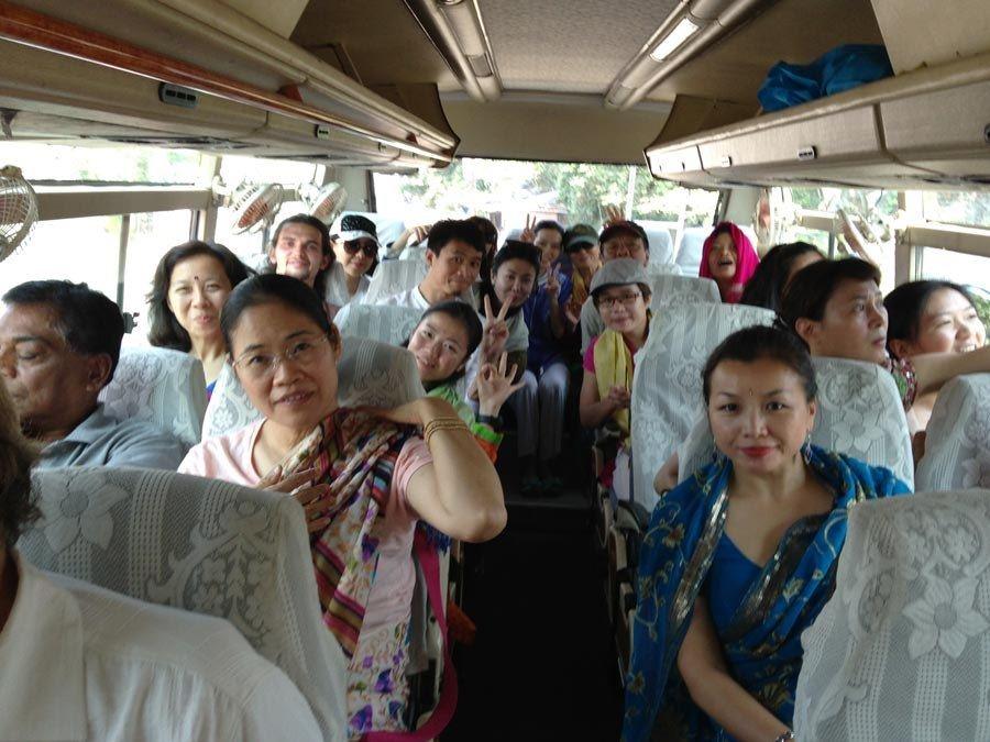 Private bus journey to Devaprayag