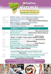 NATURAL EXPO DOMENICA 22  FEBBRAIO