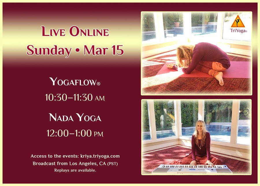 Yogaflow & Nada Yoga with Yogini Kaliji