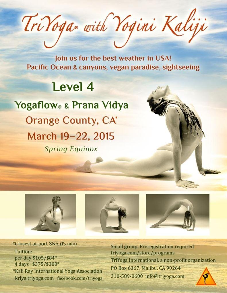 TriYoga Level 4 with Yogini Kaliji