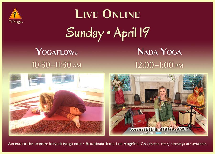 Yogaflow & Nada Yoga with Yogini Kalii