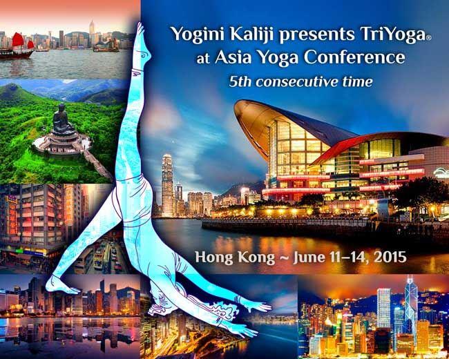 Yogini Kaliji presents TriYoga at Hong Kong Conference