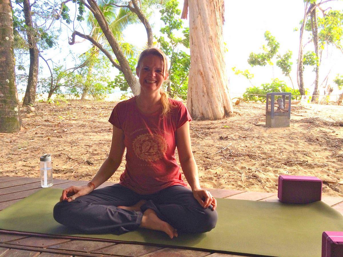 Teaching at Kewarra Beach