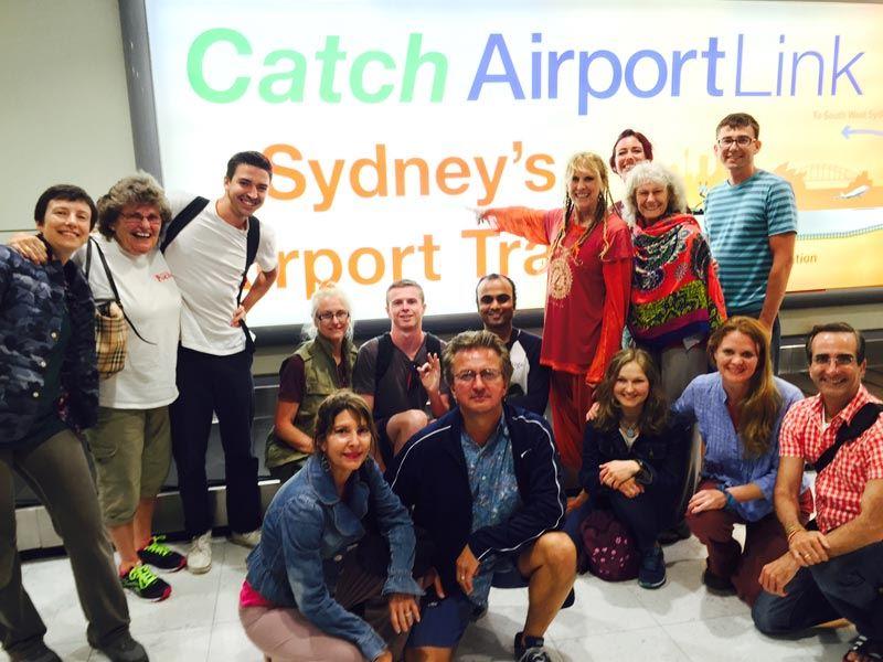 TriYoga_Sydney_arrival
