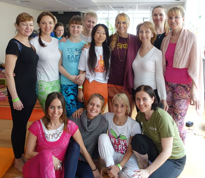 Moscow TY Teacher Inna and her students