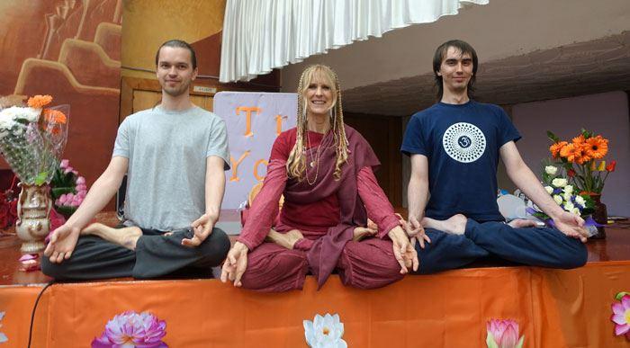 with TY Teachers Alexey & Pavitra
