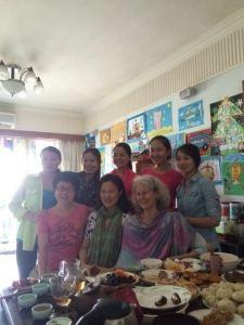 Lola's teach party