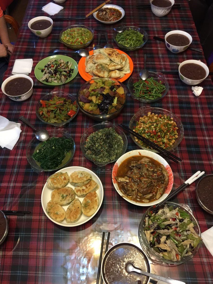 Dragon Boat Festival feast!