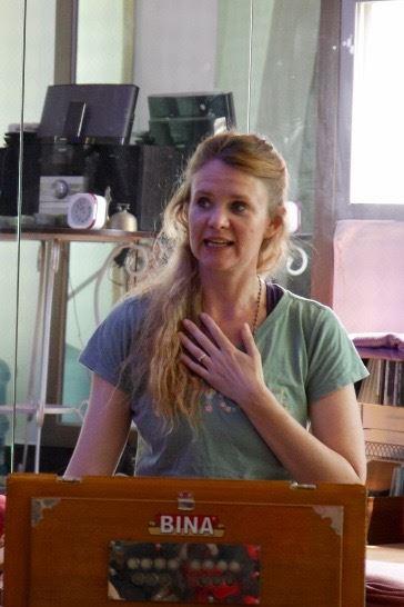 Santoshi teaching