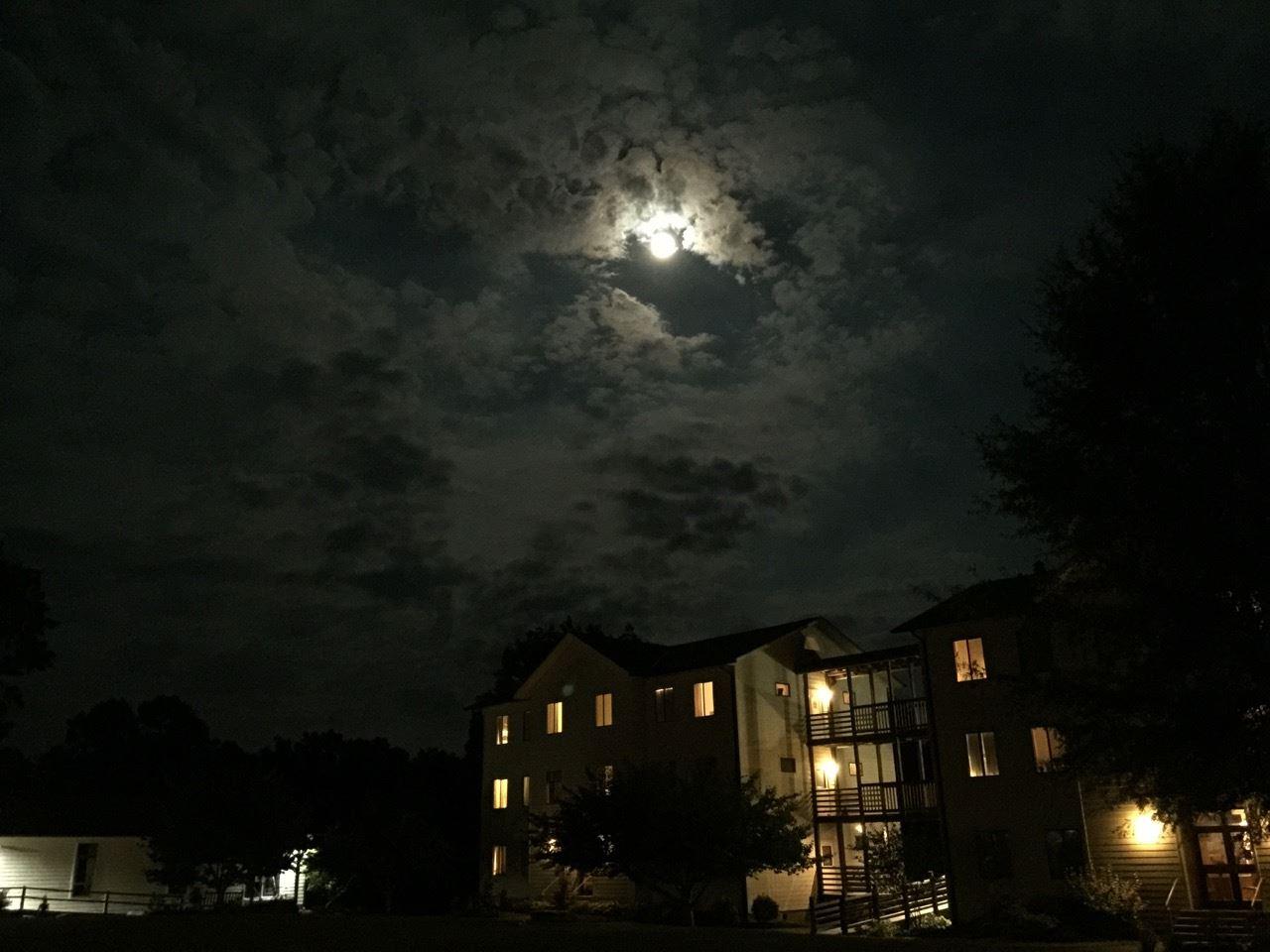 Full Moon Over Yogaville