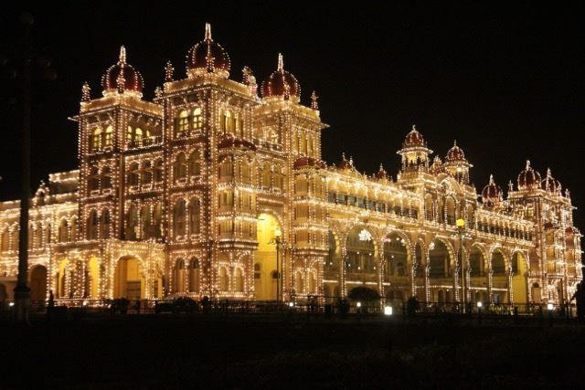 Mysore Palace Lights